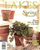 Northern Indiana Lakes Magazine - Spring 2011. Wyatt House Plan in Wright, Prairie Style