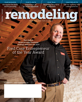 Spring 2012 Remodeling Magazine featuring Mark Wyatt's article about metal ceiling installations