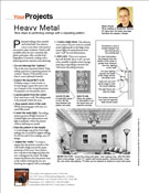 Wyatt article in remodeling magazine - heavy metal