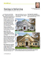 Seeing is Believing article written by Wyatt House Plans