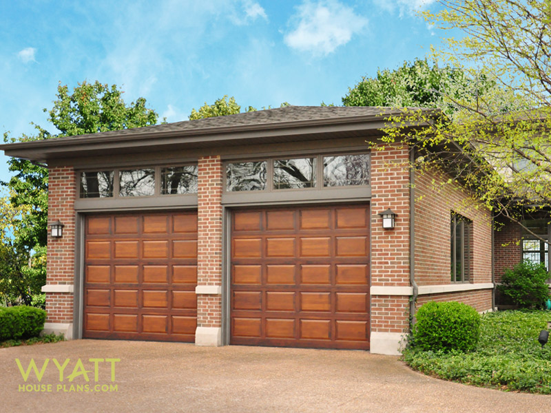 Windermere garage for Brick garage plans